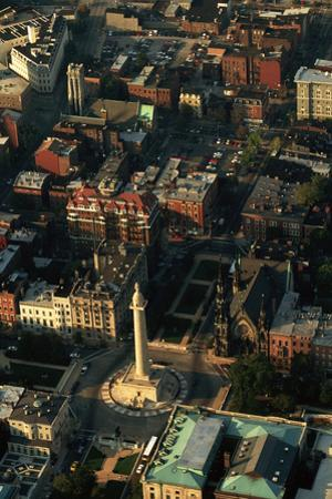 Aerial View of Downtown Baltimore