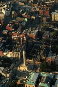 Aerial View of Downtown Baltimore by Paul Souders