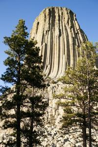 Devils Tower National Monument in Wyoming by Paul Souders