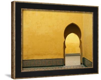 Doorway at Mausoleum of Moulay Ismail