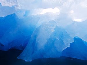 Iceberg Near Monacobreen Glacier in Liefdefjorden Fjord, Spitsbergen Island, Svalbard, Norway by Paul Souders