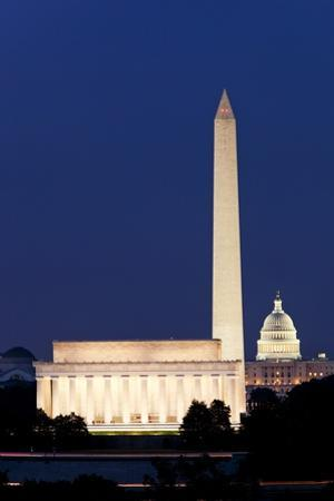 Landmarks in Washington, DC by Paul Souders