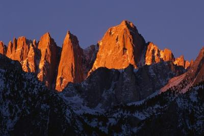 Morning Light on Mount Whitney by Paul Souders