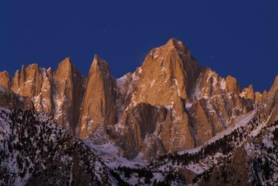 Mount Whitney by Paul Souders