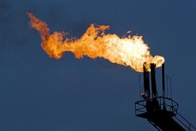 Natural Gas Flare by Paul Souders