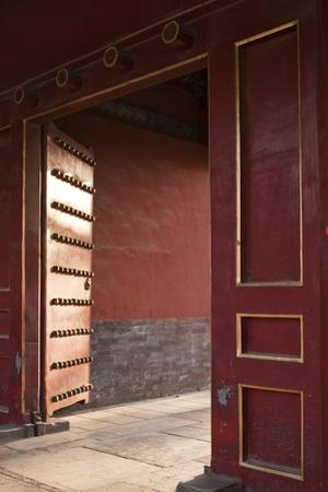 Open Gates at the Forbidden City