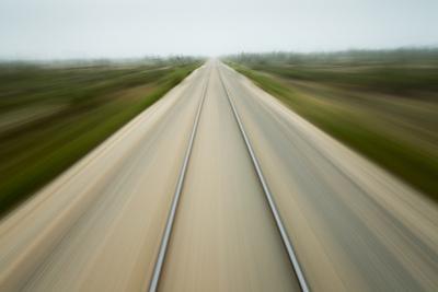 Railroad Tracks, Churchill, Manitoba, Canada