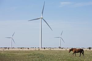 Wind Farm, Vega, Texas by Paul Souders