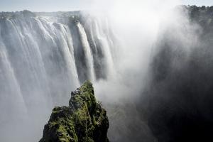 Zambezi River at Victoria Falls, Zimbabwe by Paul Souders