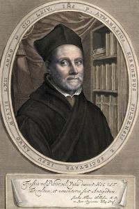 1655 Athanasius Kircher Colour Portrait by Paul Stewart
