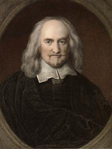 1660 Thomas Hobbes English Philosopher by Paul Stewart