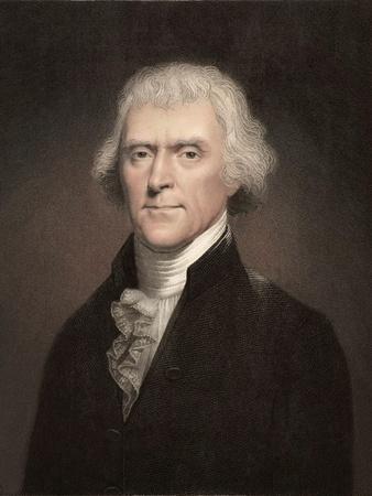 1800 Thomas Jefferson Portrait.