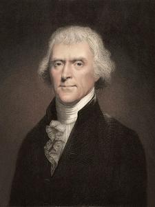 1800 Thomas Jefferson Portrait. by Paul Stewart