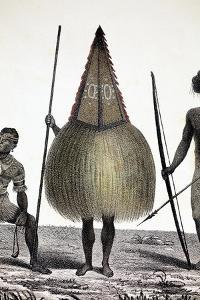 1827 New Ireland Native Sprit Costume PNG by Paul Stewart