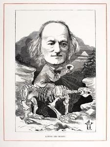 1871 Richard Owen on Megatherium Fossil by Paul Stewart