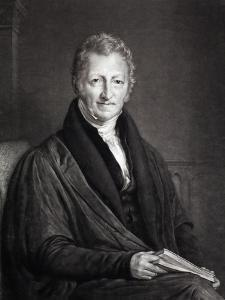 Thomas Malthus Portrait Population by Paul Stewart