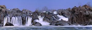 Panoramic Image of Potomac River at Great Falls State Park by Paul Sutherland