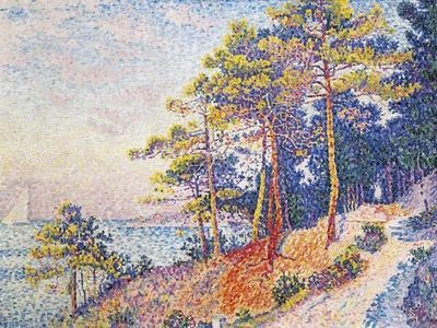 St Tropez, the Custom's Path, 1905