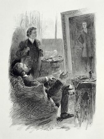 Illustration from The Picture of Dorian Gray by Oscar Wilde