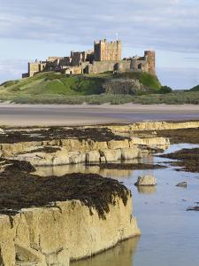 Bamburgh Castle on the Beach by Paul Thompson