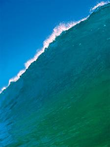 Cresting Ocean Wave - Hawaii by Paul Topp