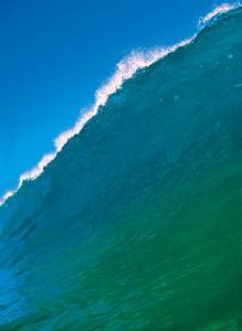 Cresting Ocean Wave - Hawaii by Paul Topp