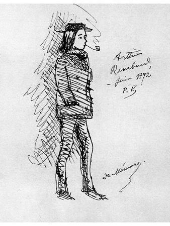 Arthur Rimbaud, French Poet and Adventurer, 1895
