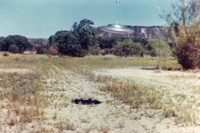 UFOs, New Mexico, Villa by Paul Villa
