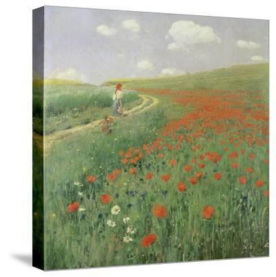 Summer Landscape with Poppy Field, 1902