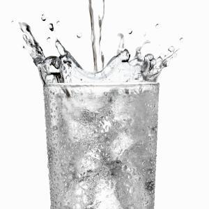 Pouring Water into a Glass by Paul Williams