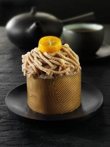 Small Chestnut Cake to Serve with Tea by Paul Williams
