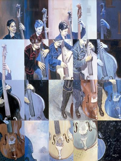Paula Gardiner, Jazz Bassist, 1998-Huw S. Parsons-Giclee Print