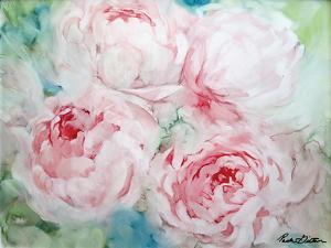 Pink Peonies I by Paula Giltner