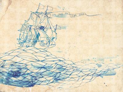 Blue Ship by Paula Mills