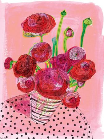 Flowers On My Table by Paula Mills