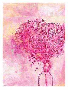 Painted Peony by Paula Mills