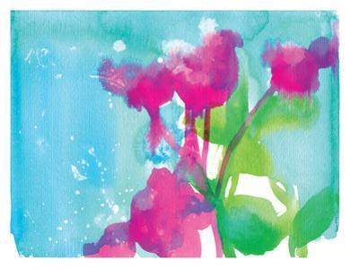 Pink Flowers by Paula Mills