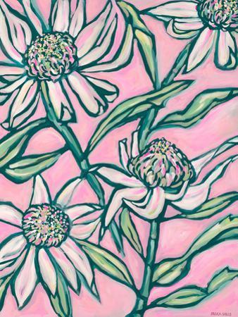 Pink Waratah Painting by Paula Mills