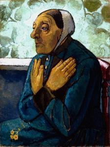 Old Peasant Woman, c.1905 by Paula Modersohn-Becker