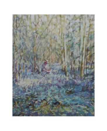 Painting Bluebells
