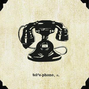 Office Telephone by Paula Scaletta