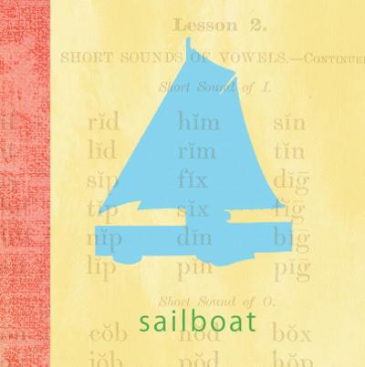 Vintage Toys Sailboat
