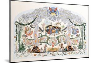 """""""Christ Was Born on Christmas Day, Wreathe the Holly, Twine the Bay"""", 1981 by Pauline Baynes"""