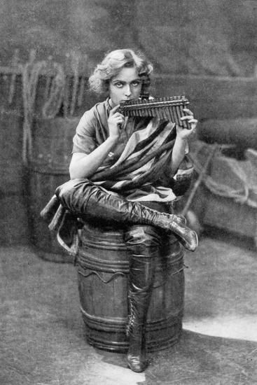 Pauline Chase as Peter Pan, 1908-1909-Alfred & Walery Ellis-Giclee Print