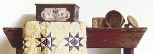 Buttermolds (detail) by Pauline Eblé Campanelli