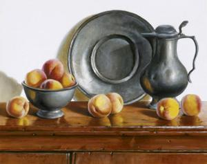 Peaches and Pewter by Pauline Eblé Campanelli