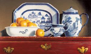 Tea and Oranges by Pauline Eblé Campanelli