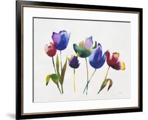 Rainbow Tulips 2 by Paulo Romero