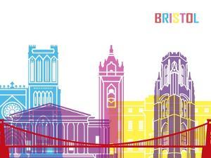 Bristol Skyline Pop by paulrommer