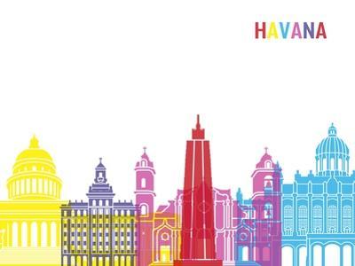 Havana Skyline Pop by paulrommer